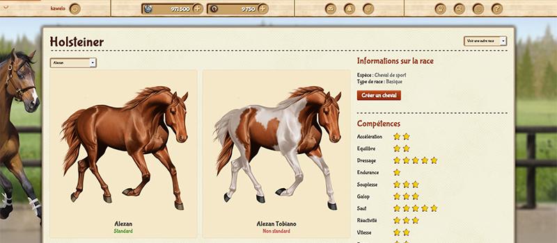 dddec089208e3 Kazakorse - Jeu d élevage de chevaux virtuels gratuit